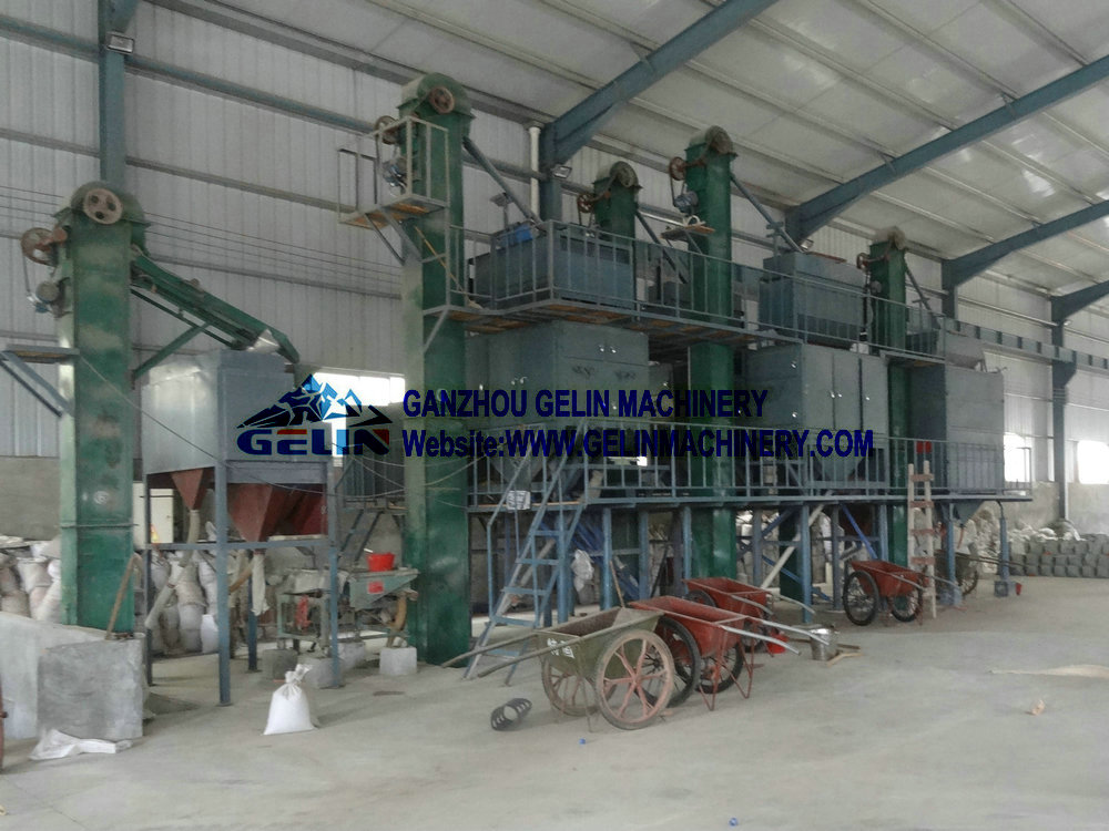 Four rollers high tension electrostatic separator
